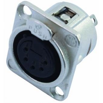NEUTRIK XLR mounting socket 5pin NC5FDL-1