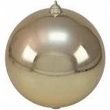 EUROPALMS Deco Ball 20cm, cappuccino