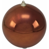EUROPALMS Deco Ball 20cm, copper