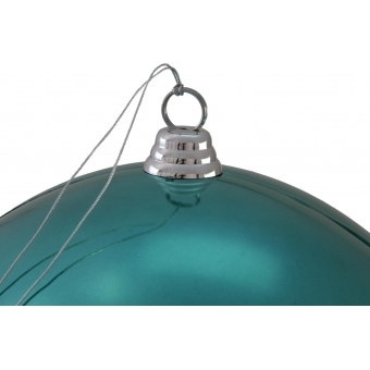 EUROPALMS Deco Ball 30cm, turquoise #2