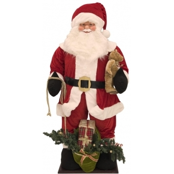 EUROPALMS Santa, inflatable with integrated pump, 190cm #1