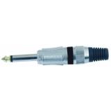 OMNITRONIC Jack plug 6.3 mono bk ROAD 10x