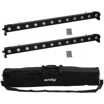 EUROLITE Set 2x LED BAR-1250 + Soft-Bag