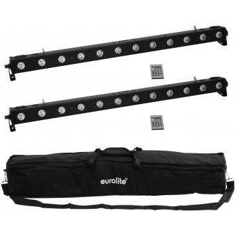 EUROLITE Set 2x LED BAR-1250 + Soft-Bag