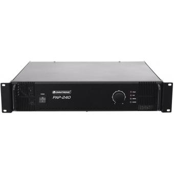 OMNITRONIC PAP-240 PA Amplifier #2