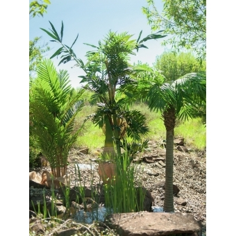 EUROPALMS Kentia palm tree, artificial plant, 140cm #10