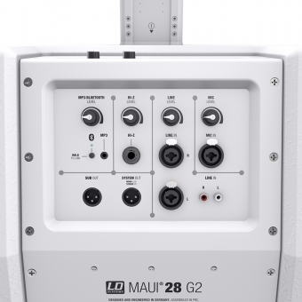 LD Systems MAUI 28 G2 W Compact column PA system active #11