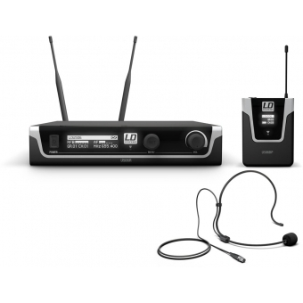Sistem wireless headset LD Systems U506 BPH