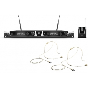 Sistem wireless 2 headset beige LD Systems U506 BPHH 2