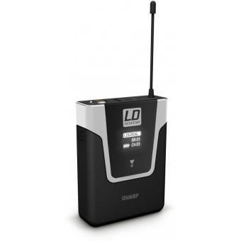 Sistem wireless microfon clip-on instrument LD Systems U506 BPW #3