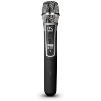 Sistem Wireless microfon de mana condenser LD Systems U506 HHC #2