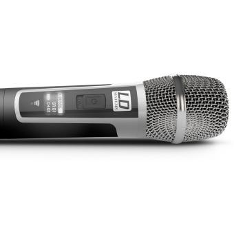 Sistem Wireless microfon de mana condenser LD Systems U506 HHC #3