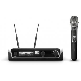 Sistem Wireless microfon de mana condenser LD Systems U506 HHC