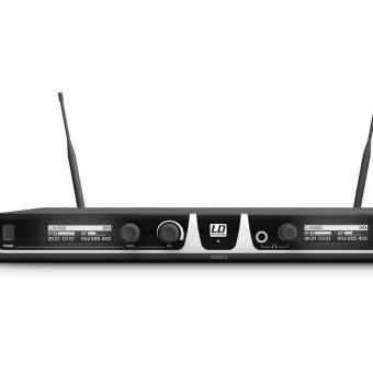Sistem Wireless 2 microfoane de mana condenser LD Systems U506 HHC 2 #2