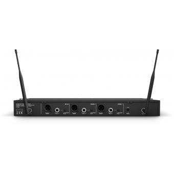 Sistem Wireless 2 microfoane de mana condenser LD Systems U506 HHC 2 #3