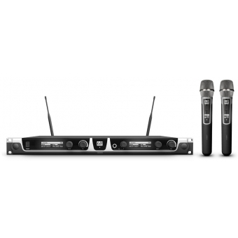 Sistem Wireless 2 microfoane de mana condenser LD Systems U506 HHC 2