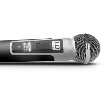 Sistem wireless microfon dinamic LD Systems U506 HHD #5