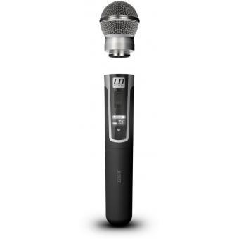 Sistem wireless microfon dinamic LD Systems U506 HHD #6