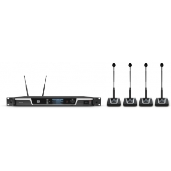 Sistem wireless conferinta 4 canale LD Systems U506 CS 4