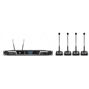 Sistem wireless conferinta 4 canale LD Systems U506 CS 4