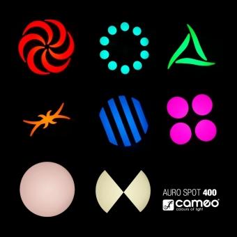 Moving head LED Cameo Auro Spot 400 #12