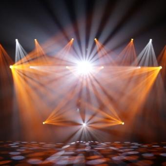 Moving head LED Cameo Auro Spot 400 #8