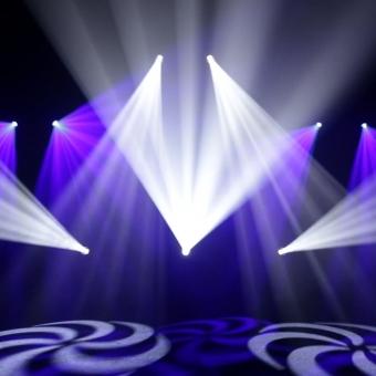 Moving head LED Cameo Auro Spot 400 #9