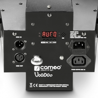 Cameo VOODOO 2-in-1 Derby and Strobe Effect Light #5