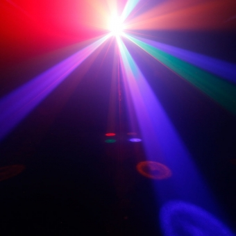 Cameo VOODOO 2-in-1 Derby and Strobe Effect Light #9