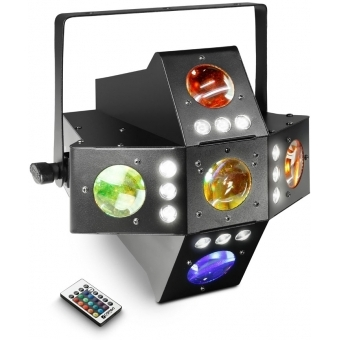 Cameo VOODOO 2-in-1 Derby and Strobe Effect Light