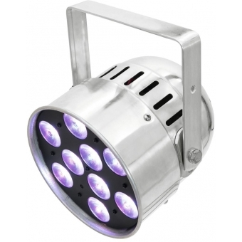 EUROLITE LED PAR-56 QCL Short sil #7