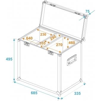 ROADINGER Flightcase 2x TSL-750/TSL-1200 #5