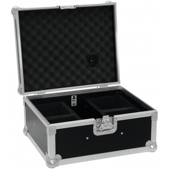 ROADINGER Flightcase 4x AKKU UP 4 QCL Spot QuickDMX #3