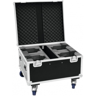 ROADINGER Flightcase 4x LED TMH-X1 Moving-Head Beam #3