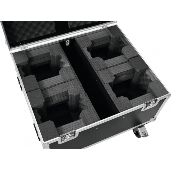 ROADINGER Flightcase 4x LED TMH-X1 Moving-Head Beam #4