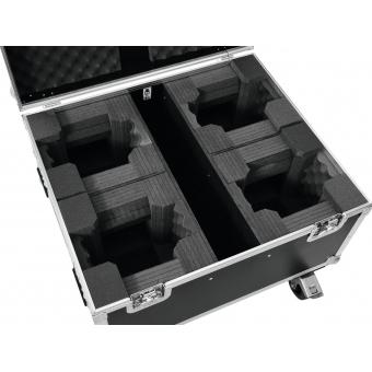 ROADINGER Flightcase 4x LED TMH-X1 Moving-Head Beam #4