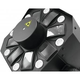 EUROLITE LED FE-2000 Hybrid Laser Flower #5