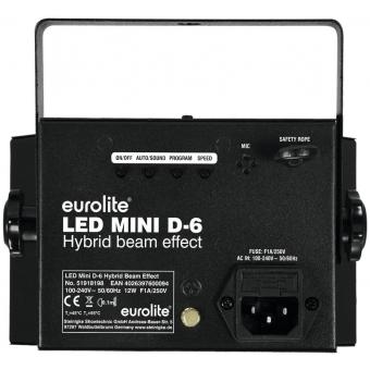 EUROLITE LED Mini D-6 Hybrid Beam Effect #3