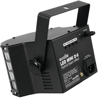 EUROLITE LED Mini D-6 Hybrid Beam Effect #4