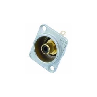 NEUTRIK RCA mounting socket bk NF2D0 #2