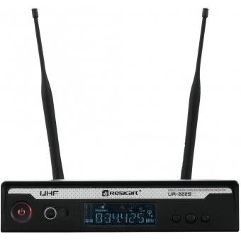 RELACART UR-222S 1-Channel UHF Receiver