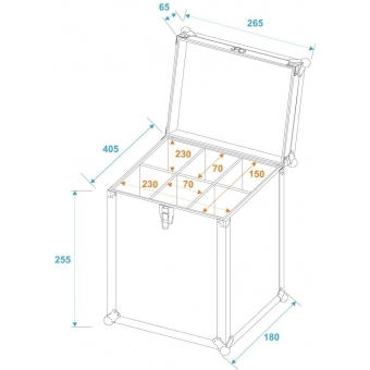 ROADINGER Sixpack Case 6x 0.50l Bottle/Can #5