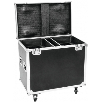 ROADINGER Flightcase 2x TMH-X20
