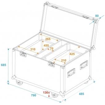 ROADINGER Flightcase 2x TMH-X20 #5
