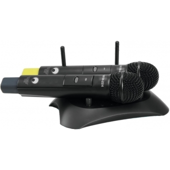 OMNITRONIC WM-224 2-Channel Wireless Microphone System 2.4GHz #2