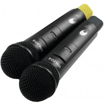 OMNITRONIC WM-224 2-Channel Wireless Microphone System 2.4GHz #5