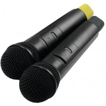 OMNITRONIC WM-224 2-Channel Wireless Microphone System 2.4GHz #6