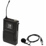 OMNITRONIC UHF-502 Bodypack 863-865MHz, incl. Lavalier (CH B blu