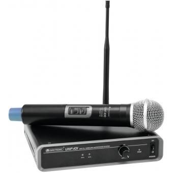 OMNITRONIC UHF-101 Wireless Mic System 863.8MHz
