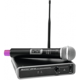 OMNITRONIC UHF-101 Wirelessn Mic System 823.5MHz